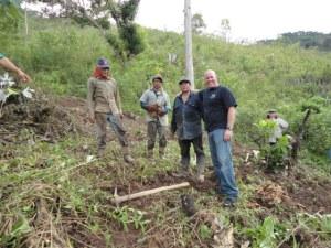 Ginger Farmers in Peru