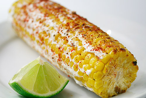 Elcote, Mexican-style corn on the cob. Photo courtesy of tumblr.com