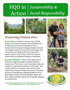 Click on the image to read more about Peru's organic agriculture in this white paper.
